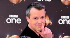 Graeme Swann found it hard to return to life after Strictly.(Ian West/PA)