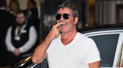Simon Cowell arrives at Britain's Got Talent auditions at the London Palladium (Kirsy O'Connor/PA)
