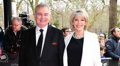 Eamonn Holmes and Ruth Langsford hosted the show (Ian West/PA)