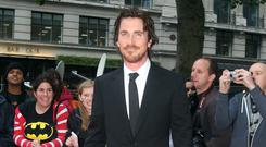 Christian Bale's weight has fluctuated over the years (Lewis Whyld/PA)