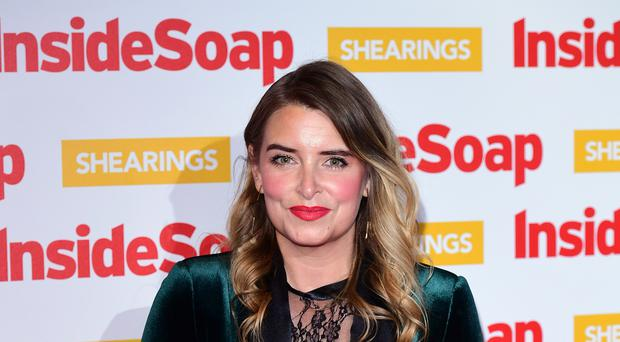 Emmerdale's Emma Atkins is among the nominees ahead of the National Television Awards (Ian West/PA)