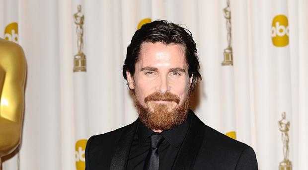 Christian Bale said he deliberately tried to convince people he is American and was glad when people were shocked to discover he was British (Ian West/PA)
