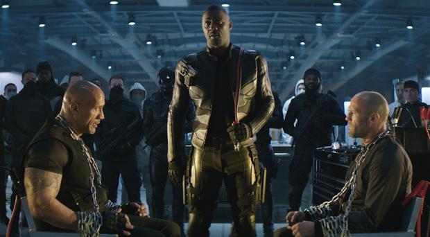 A scene from Fast and Furious: Hobbs and Shaw (Universal)