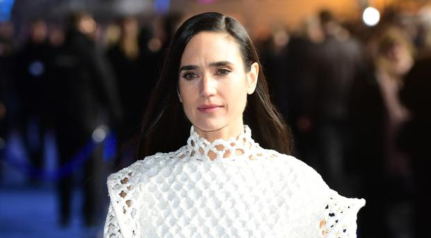 Jennifer Connelly at the premiere of Alita: Battle Angel (Ian West/PA)