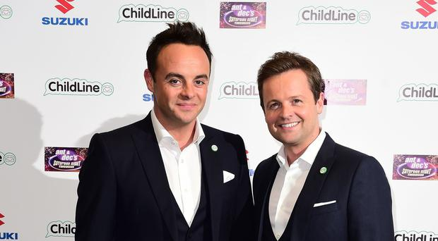 Anthony McPartlin (left) and Declan Donnelly attending Ant and Dec's Saturday Night Takeaway Childline Ball at Old Billingsgate in London.