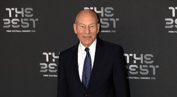Sir Patrick Stewart said he was getting excited as the start date for the new Star Trek series approaches (Tim Goode/PA)