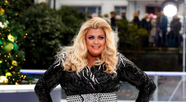 Gemma Collins has exited Dancing On Ice (David Parry/PA)