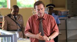 Ardal O'Hanlon as detective Jack Mooney in Death In Paradise (Denis Guyenon/BBC)