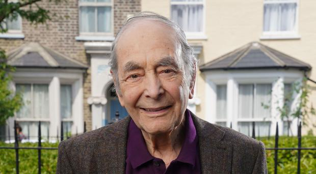 EastEnders cast member Leonard Fenton played Dr Harold Legg for more than three decades (BBC)