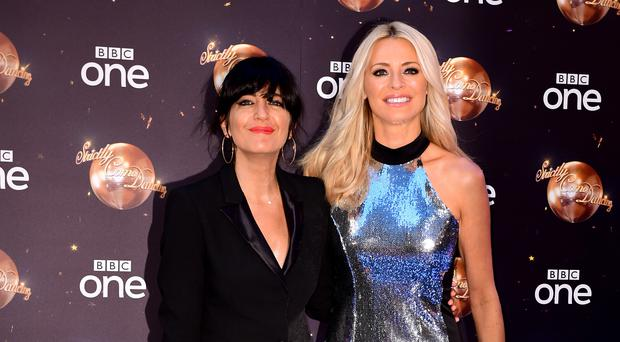 Claudia Winkleman and Tess Daly will dance for 24 hours for Comic Relief (Ian West/PA)