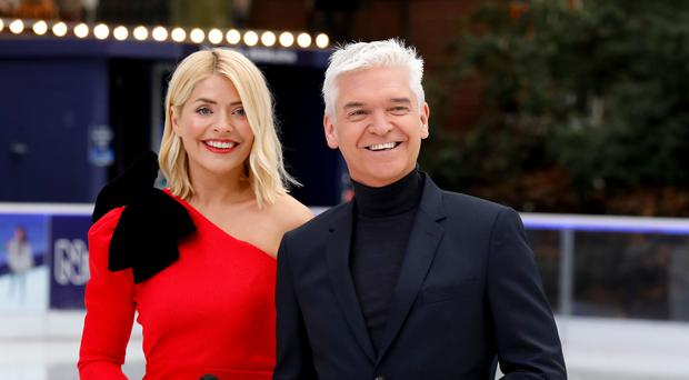 Holly Willoughby and Phillip Schofield present Dancing On Ice (David Parry/PA)