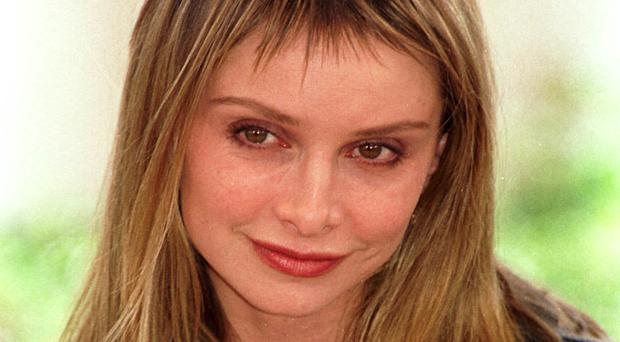American actress Calista Flockhart, who plays Ally McBeal in the television series, at the photocall for the film 'Things you can tell just by looking at her', at the Cannes Film Festival, France.