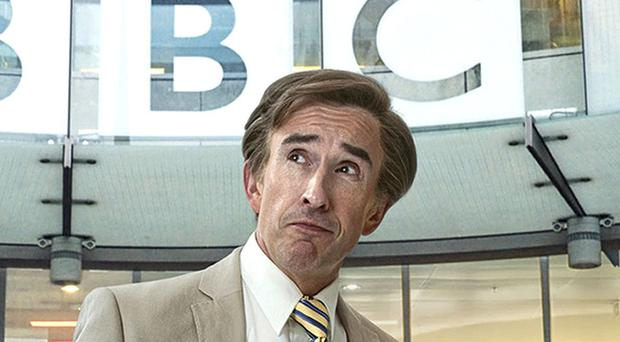 Alan Partridge fronts new show This Time With Alan Partridge. (Andy Seymour/BBC)