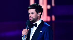 Jack Whitehall on stage at the Brit Awards 2019 (Victoria Jones/PA)