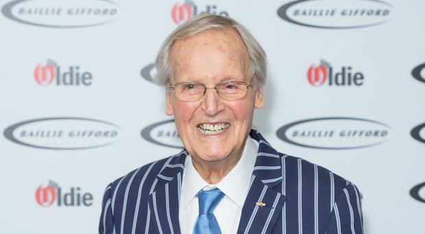 Nicholas Parsons is to receive a special broadcasting award (Dominic Lipinski/PA)
