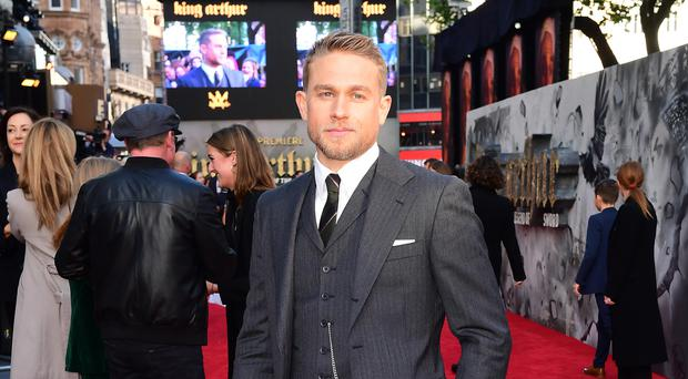 Sons Of Anarchy star Charlie Hunnam said Netflix should be eligible for Oscars (Ian West/PA)