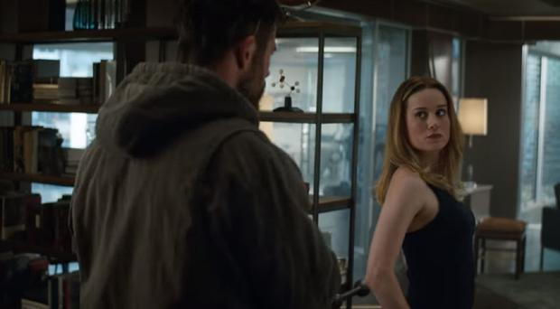 Thor and Captain Marvel (Disney)