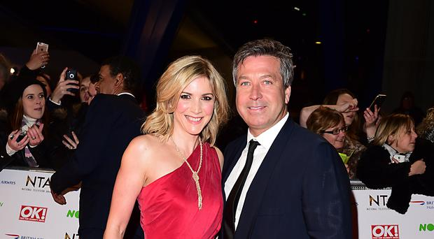 John Torode and Lisa Faulkner are to host a new weekend cookery show (Ian West/PA)