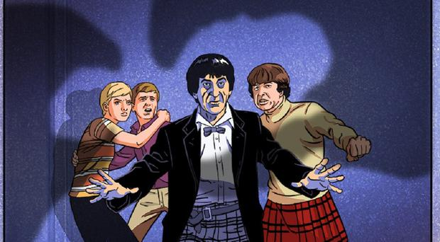 The Doctor Who animation (BBC Studios/PA)