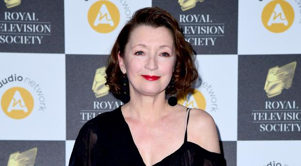 Lesley Manville attending the Royal Television Society Programme Awards (Ian West/PA)