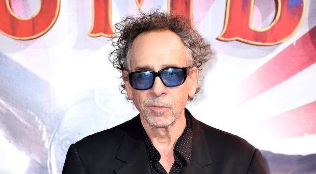 Tim Burton said he expected Brexit to be delayed (Matt Crossick/PA)