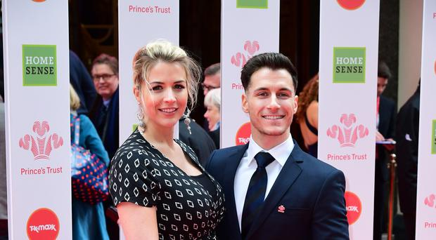 Gemma Atkinson with Gorka Marquez (Ian West/PA)