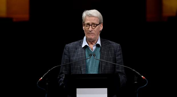 Jeremy Paxman discussed thongs on Tuesday's episode of the Great Celebrity Bake Off (Anthony Devlin/PA)