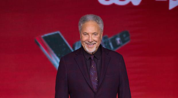 Voice coach Sir Tom Jones (David Parry/PA)