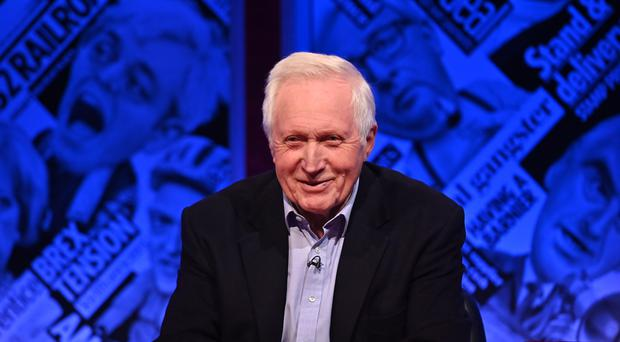 David Dimbleby is to host Have I Got News For You (Mark Allan/Hat Trick Productions/PA)