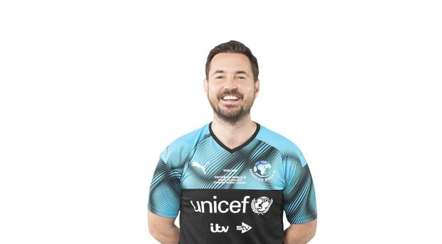 Martin Compston (Tom Dymond/Soccer Aid for Unicef/PA)