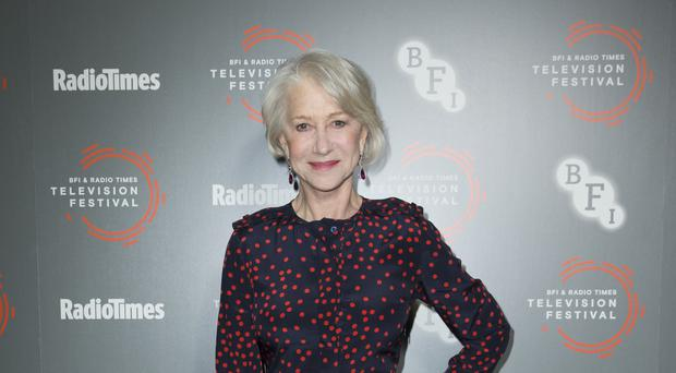 Dame Helen Mirren was inducted into the Radio Times hall of fame (Isabel Infantes/PA)