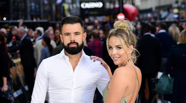 Lydia Bright and Lee Cronin are back together (Matt Crossick/PA)