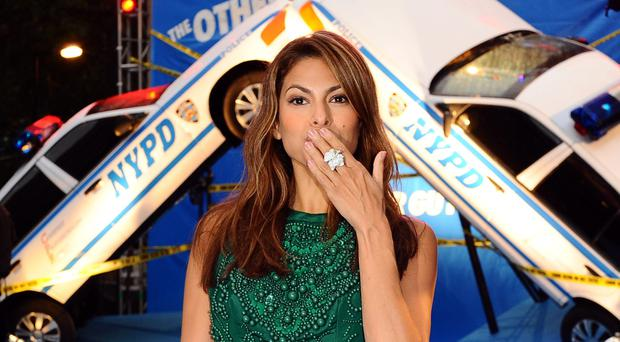 Eva Mendes said having children was 'the furthest thing from my mind' until she met Ryan Gosling (Ian West/PA)