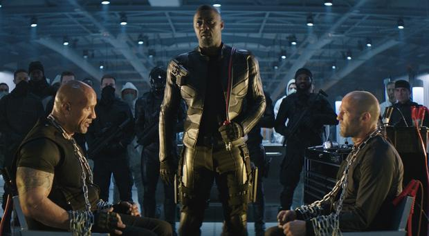 Idris Elba declares himself 'black Superman' in new Hobbs and Shaw trailer (Universal/PA)