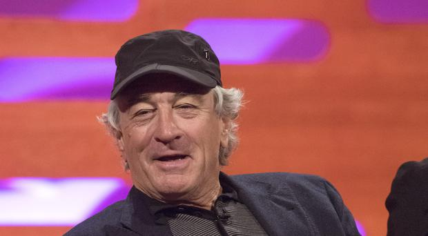 Robert De Niro reignited his feud with Donald Trump and called the US president a 'total loser' (Matt Crossick/PA Images on behalf of SO TV)