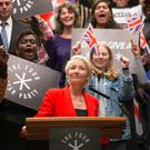 Dame Emma Thompson looks ruthless as a politician in first-look Years And Years trailer (Red Production/Guy Farrow)