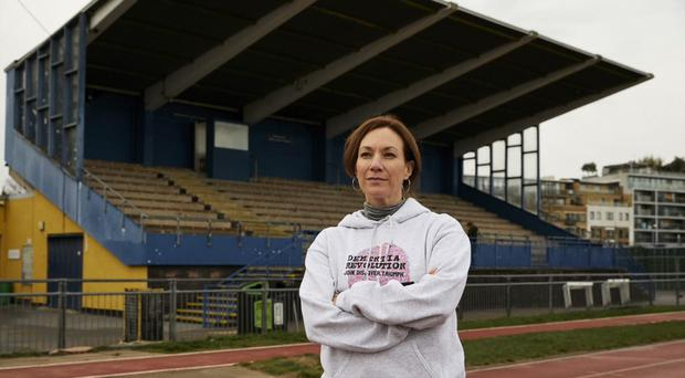 Tanya Franks is running in the London Marathon. (Dementia Revolution)
