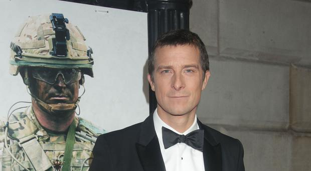 Bear Grylls is host, narrator and executive producer of Hostile Planet (Yui Mok/PA)