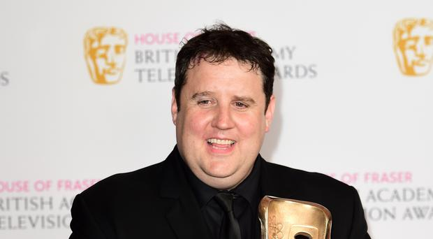 Peter Kay has been spotted on a Blackpool tram (Ian West/PA)