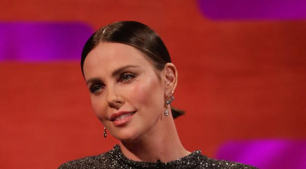 Charlize Theron on the Graham Norton Show (Isabel Infantes/PA)