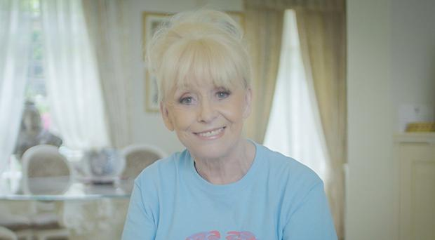 Dame Barbara Windsor thanked the public after donations to her husband's dementia fundraising effort reached £100,000 (Alzheimer's Society/PA)