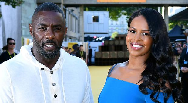 Idris Elba and Sabrina Dhowre (Ian West/PA)