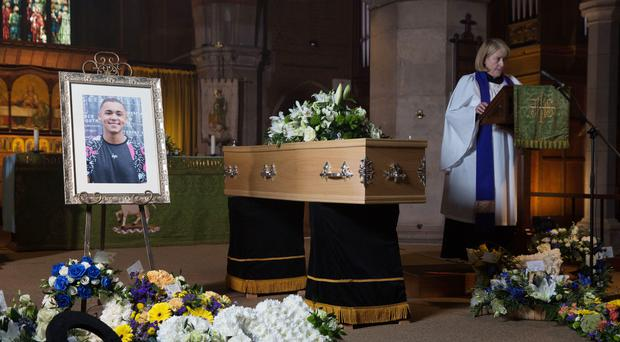 The funeral of Shakil Kazemi is nominated for Scene of the Year (Jack Barnes/BBC/PA)