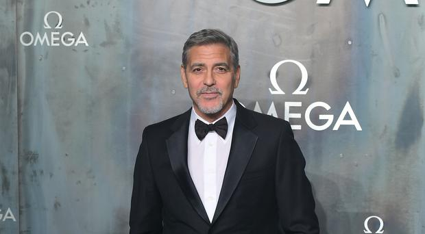 Hollywood actor George Clooney stars in the TV adaption of Catch-22 (Ian West/PA)