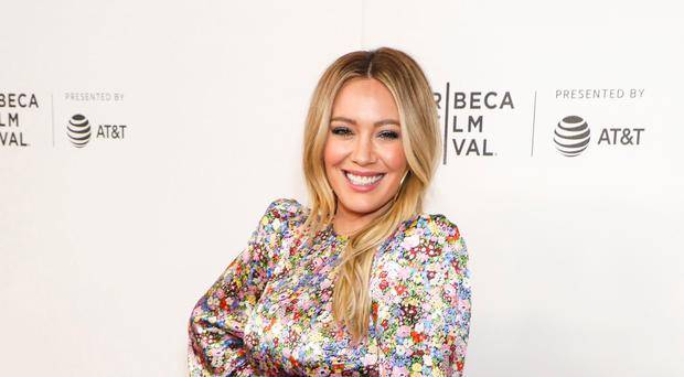 Hilary Duff is engaged to her partner Matthew Koma (Gregory Pace/REX/Shutterstock)