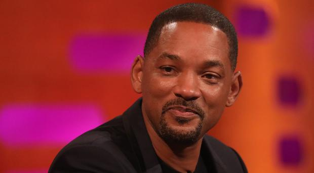 Will Smith on the Graham Norton Show (Isabel Infantes/PA)
