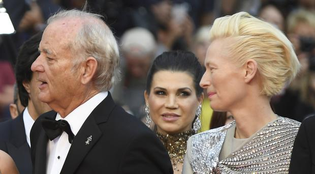 Bill Murray and Tilda Swinton star in The Dead Don't Die (Photo by Arthur Mola/Invision/AP)