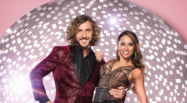 Strictly's Katya Jones compared her kiss with Seann Walsh to Brexit (Ray Burmiston/BBC)