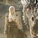 Emilia Clarke as Daenerys in Games Of Thrones (Sky)