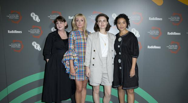 Call The Midwife cast reunite to film ninth series (Isabel Infantes/PA)